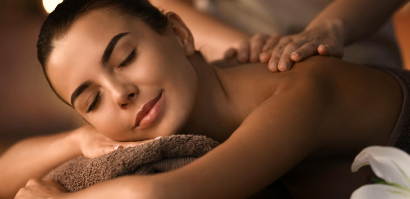 Relaxing treatments in Harmony spa